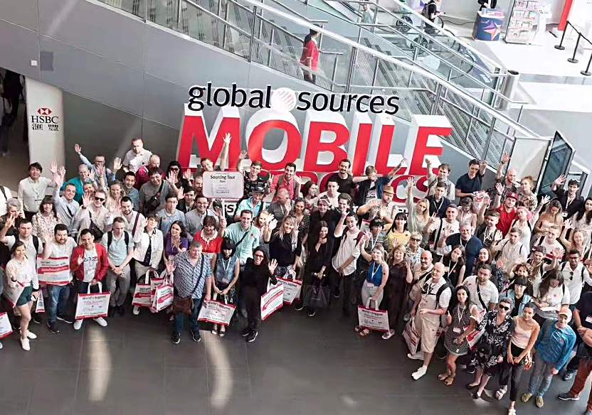 Exhibition! Hongkong Global Source Mobile Electronics Exhibition Fullfilled!